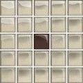 glass beige/brown mosaic a new 14,8x14,8 OD660-124 OPOCZNO