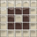 glass beige/brown mosaic b new 14,8x14,8 OD660-125 OPOCZNO