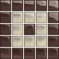 glass beige/brown mosaic c new 14,8x14,8 OD660-126 OPOCZNO