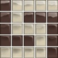 glass beige/brown mosaic d new 14,8x14,8 OD660-127 OPOCZNO
