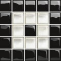 glass white/black mosaic c new 14,8x14,8